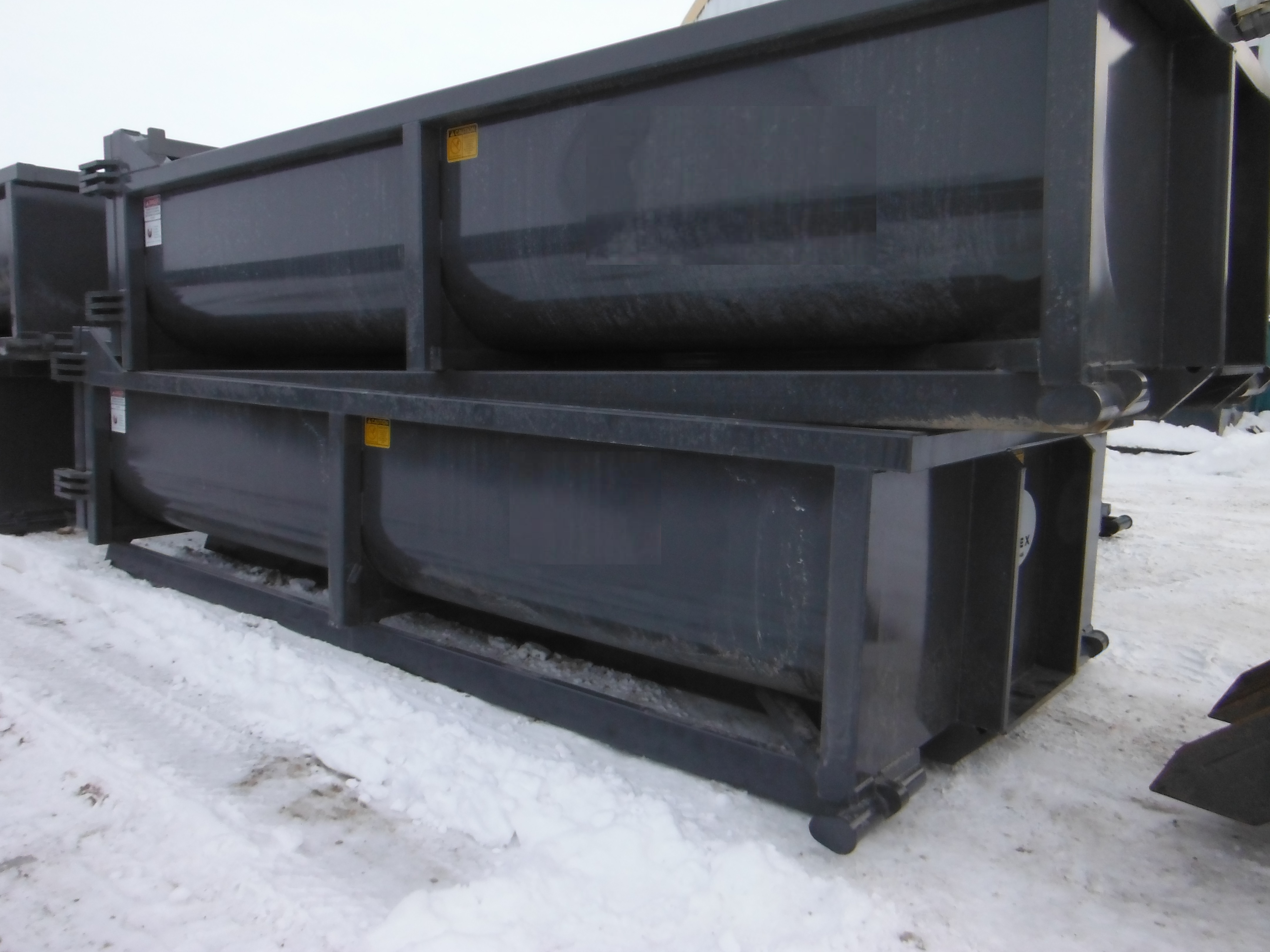 Cement Mixing Bins